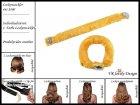 """Lockenwickler mit Haarsträhnenhülle - Locken mit 2 Stück """"Sonnengelb"""" (Wickler, Papilotten) Farbwahl"""
