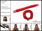 """Lockenwickler mit Haarsträhnenhülle - Locken mit 2 Stück """"Rot"""" (Wickler, Papilotten) Farbwahl"""