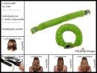 """Lockenwickler mit Haarsträhnenhülle - Locken mit 2 Stück """"Neongrün"""" (Wickler, Papilotten) Farbwahl"""
