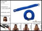 """Lockenwickler mit Haarsträhnenhülle - Locken mit 2 Stück """"Blau"""" (Wickler, Papilotten) Farbwahl"""