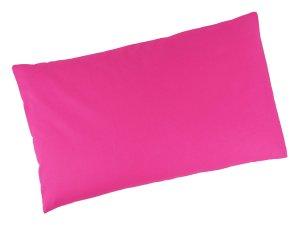 """Buchweizenkissen 50x30cm """"Pink"""" Farbwahl"""
