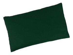 """Buchweizenkissen 50x30cm """"Tannengrün"""" Farbwahl"""