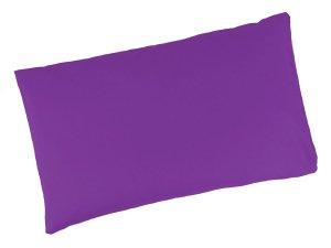 """Buchweizenkissen 50x30cm """"Violett"""" Farbwahl"""