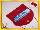 Tasche: Taschentuchtasche aus Filz